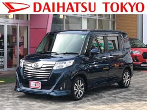 ダイハツ トール カスタムG ターボ SAIII ナビ・ETC付