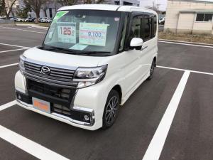 ダイハツ タント カスタムX トップエディションSAII 4WD・ナビ・バックカメラ・LEDヘッドランプ・アルミホイール