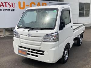 ダイハツ ハイゼットトラック スタンダードSAIIIt 4WD マニュアル車 LEDヘッドライト エアコン付き