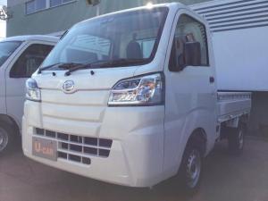 ダイハツ ハイゼットトラック スタンダードSAIIIt パートタイム4WD スマートアシストつき LEDヘッドランプ 泥除け スペアタイヤつき 補助ミラー(左ドアミラー)