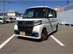 ダイハツ タント カスタムX トップエディションリミテッドSAIII 4WD CVT 純正ナビ 両側電動スライドドア