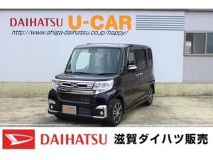 ダイハツ タント カスタムRS SAIII 4WD ターボ ナビ バックカメラ