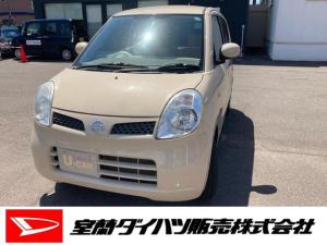 日産 モコ S FOUR 4WD ワンオーナー・4WD・CDチューナー・マニュアルエアコン・シートヒーター・スタッドレスタイヤ