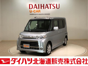 ダイハツ タント カスタムX 4WD CDチューナー キーレス 電動スライドドア