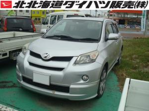 トヨタ イスト 150G 4WD サイド&カーテンエアバッグ オートエアコン CD/MDチューナー 革巻きステアリングホイール 革調シートカバー アルミホイール