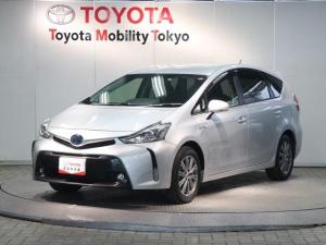 トヨタ プリウスアルファ G SDナビ・フルセグ・バックモニター・ETC