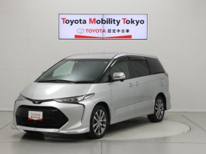 トヨタ エスティマ アエラス プレミアム-G 10インチナビ Bluetooth