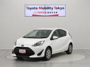 トヨタ アクア S 元社用車・ドラレコ・SDナビ・ワンセグTV・ETC・CD