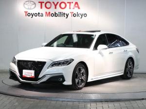 トヨタ クラウン RS アドバンス TSS・本革シート・サンルーフ・SDナビ