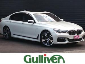 BMW 7シリーズ 750i Mスポ サンルーフ 全方位モニター ブラックレザー