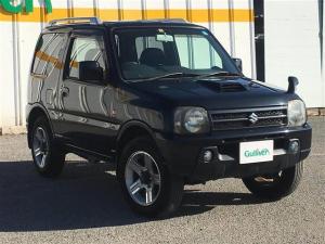 スズキ ジムニー ランドベンチャー 4WD ターボ 社外HDDナビ ワンセグ