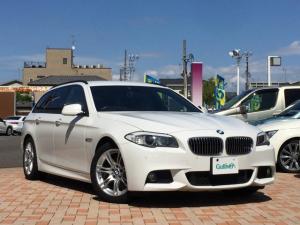 BMW 5シリーズ Bパフォーマンス ツーリング ☆純ナビ/フルセグ Pトランク
