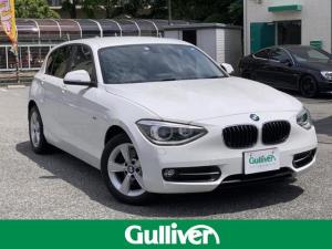 BMW 1シリーズ 1シリーズ スポーツ車検2年 電動オープン 本革シート禁煙車