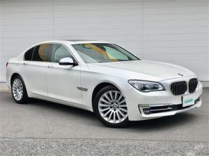 BMW 7シリーズ 茶本革/サンルーフ/フルセグHDDナビ/衝突軽減ブレーキ