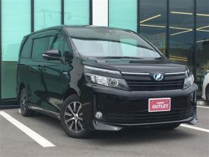 トヨタ ヴォクシー V フリップダウンモニター 両側電動スライド 衝突安全装置