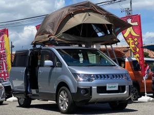 三菱 デリカD:5 4WD ダーチ ルーフトップテント Bカメラ 片パワスラ