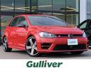 フォルクスワーゲン/VW ゴルフR 本革 シティーブレーキ 純正ナビ Bluetooth ETC