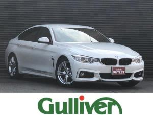 BMW 4シリーズ 420iグランクーペ Mスポーツ 4シリーズ グランクーペ Mスポーツ インテリジェントセーフティ クルーズコントロール 純正メーカーHDDナビ バックカメラ パワーリアゲート ドラレコ 純正HIDヘッドライト オートライト