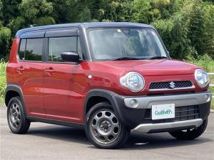 スズキ ハスラー G 社外メモリナビ ワンセグ Bluetooth 衝突軽減ブレーキ シートヒーター レザー調シートカバー
