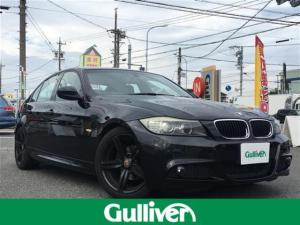 BMW 3シリーズ 320i Mスポーツ 純正HDDナビ・レザーシート・シートヒーター・パワーシート・バックカメラ・MTモード付AT・ステアリングスイッチ・純正18インチAW