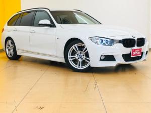 BMW 3シリーズ 320dブルーパフォーマンス ツーリング Mスポーツ 純正HDDナビDVD/CD再生可 Bluetooth対応 バックカメラ 前席パワーシート ETC HIDリアコーナーセンサー 革巻きステアリング 純正18インチアルミホイル