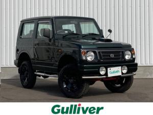 スズキ ジムニー フィッシングマスター 4WD/ターボ/AT車/防水シート/2インチリフトアップ/16AW/背面タイヤ/ステップバー/フォグランプ/ウッド調パネル