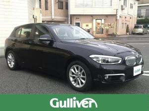 BMW 1シリーズ 118d スタイル 純正HDDナビ インテリジェントセーフティ クルーズコントロール コーナーセンサー バックカメラ レーンキープアシスト 横滑り防止 ミラー一体型ETC LEDヘッドライト ハーフレザー