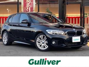 BMW 1シリーズ 118i Mスポーツ 純正メモリナビ/CD/DVD/BT/ダイナミックスタビリティコントロール/バックカメラ/電格ウィンカーミラー/オートライト/LED/フォグ/プッシュスタート/スマートキー/PW/純正17インチAW