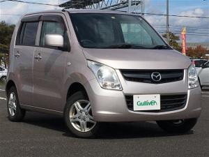 マツダ AZワゴン XG ・4WD・純正オーディオ(CD/FM/AM)・ベンチシート・シートヒーター・積み込みタイヤ有(145/80/13)