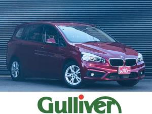 BMW 2シリーズ 218iグランツアラー 2シリーズ グランツアラー 純正LEDヘッドライト フォグランプ オートライト 純正HDDナビ バックカメラ オートワイパー Bluetooth 純正16インチアルミ アイドリングストップ キーレス