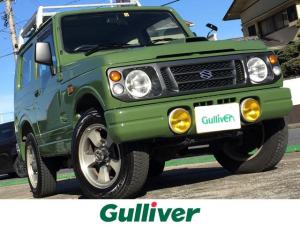 スズキ ジムニー ランドベンチャー 4WD / ルーフキャリア / 背面タイヤ / 純正16インチアルミホイール