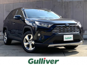 トヨタ RAV4 G トヨタセーフティセンス 純正9インチナビ DVD再生可能 Bluetooth対応 衝突軽減ブレーキ インテリジェントクリアランスソナー パワーバックドア レザーシート シートヒーター