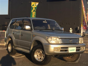 トヨタ ランドクルーザープラド TXリミテッド ワイド 4WDディーゼルターボ 純正ナビ ETC