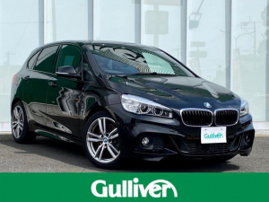 BMW 2シリーズ 225i xDriveアクティブツアラー Mスポーツ 2シリーズ xDrive Aツアラー Mスポーツ HDDナビ/バックカメラ/衝突被害軽減ブレーキ/アイドリングストップ/パワーバックドア/パワーシート/パドルシフト/純正18インチアルミホイール