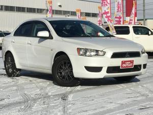 三菱 ギャランフォルティス エクシード パートタイム4WD/エンジンスターター/AFS/スペアキー/リモコンキー/純正CDオーディオ/純正スチールホイール冬タイヤ積み込み/215/60R/16 ブリジストンタイヤ