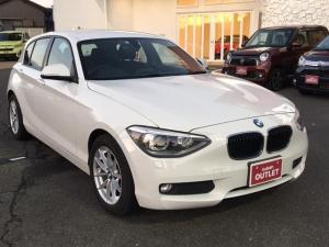 BMW 1シリーズ 116i 純正CD/AUX/ETC/プッシュスタート/スマートキー/アイドリングストップ/横滑り防止装置/HIDヘッドライト/純16AW