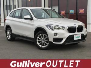 BMW X1 xDrive 18d /4WD/衝突被害軽減ブレーキ/前後ソナー/純正HDDナビ/DVD/Bluetooth/バックカメラ/純正17インチAW/プッシュスタート/スマートキー/LED/フォグ/ウインカーミラー/フロアマット