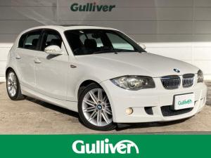 BMW 1シリーズ 120i Mスポーツパッケージ 1シリーズ Mスポーツパッケージ/サンルーフ/ハーフレザー/社外DVDナビ/HID/ETC/