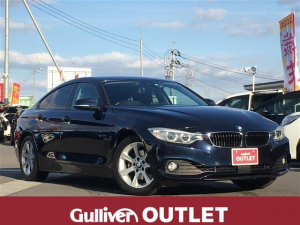 BMW 4シリーズ 420iグランクーペ 純正ナビ(CD/DVD/AUX/USB/BT)/ETC/衝突被害軽減ブレーキ/レーンキーパー/コーナセンサー