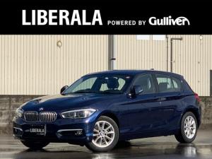 BMW 1シリーズ 118i スタイル パーキングサポートPKG バックビューカメラ パークディスタンス 純正HDDナビ ハーフレザーシート LEDヘッドライト 純正16インチAW クルーズコントロール(追従無し) アイドリングストップ