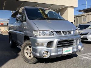 三菱 デリカスペースギア アクティブフィールドエディション パートタイム4WD SDナビ地デジ イージクローザー ETC