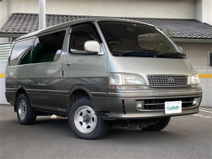 トヨタ ハイエースワゴン スーパーカスタムリミテッド 4WD 軽油 ターボ キーレスエントリー