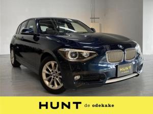 BMW 1シリーズ 116i スタイル 1シリーズスタイル/ハーフレザーシート/社外ポータブルナビ/ワンセグTV/純正オーディオAM/FM/CD/キーレスキー/プッシュスタート/電格ミラー/ウィンカーミラー/HIDライト