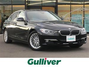 BMW 3シリーズ 320i 先進安全装置/メーカーナビ/CD/DVD/USB/AUX/MSV/BT/AM/FM/Bカメラ/レザーシート/前席シートヒーター/D席メモリーシート/社外レーダー/ミラー 一体型ETC