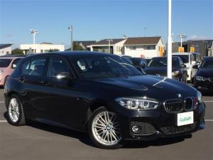 BMW 1シリーズ 118d Mスポーツ 純正メーカーOPナビ バックカメラ パーキングアシスト インテリジェントセーフティ クルーズコントロール レーンキープアシスト アイドリングストップ クリアランスソナー LIMスイッチ LEDライト
