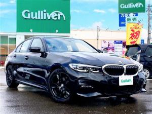BMW 3シリーズ 320i Mスポーツ 純正HDDナビ/アクティブクルコン/パークディスタンスコントロール/パーキングアシスト/レーンディパーチャー/全方位カメラ/衝突軽減ブレーキ/LEDライト/社外17インチAW/前後ドラレコ