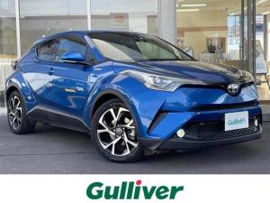 """トヨタ C-HR G T-Connect対応9V型モニターメモリナビ フルセグTV バックカメラ ハーフレザーシート 快適温熱シート LEDヘッドランプ  """"Toyota Safety Sense""""搭載"""