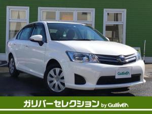 トヨタ カローラアクシオ 1.5G 純正メモリナビ ワンセグテレビ CD Bluetooth AUX ウィンカーミラー ステアリングスイッチ ドアバイザー ヘッドライトレベライザー コーナーポール スペアキー