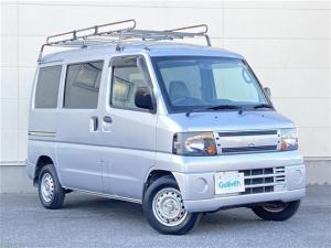 三菱 ミニキャブバン CD 純正オーディオ ルーフキャリア ETC