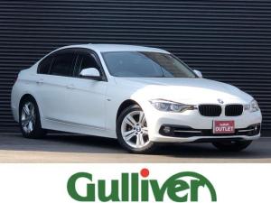 BMW 3シリーズ 318i 3シリーズ スポーツ インテリジェントセーフティ クルーズコントロール 純正LEDヘッドライト フォグランプ オートライト 純正HDDナビ Bluetooth DVD スマートキー プッシュスタート